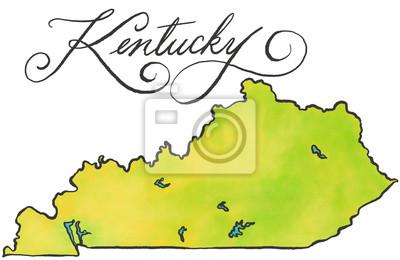 Kentucky Karte