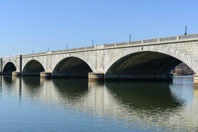 Fototapete Key Bridge in Washington DC
