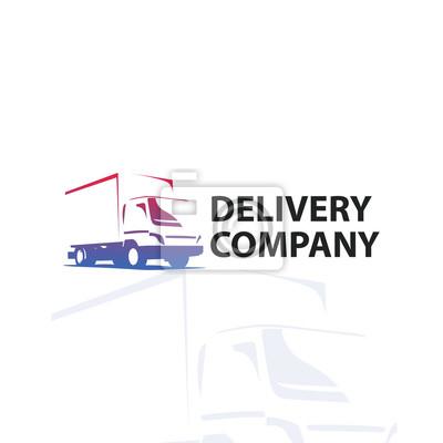 Kfz-reparatur oder lieferservice-label. vector logo-design-vorlage ...