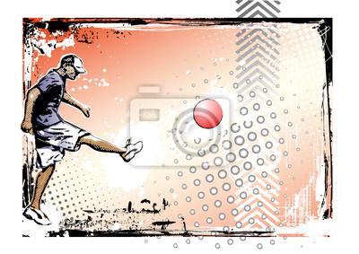 kickball Poster Hintergrund