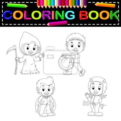 Erfreut Halloween Malbuch Galerie - Ideen färben - blsbooks.com