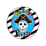 Kinder Zeichnung Von Piraten Konzept Vektor Illustration Isoliert Auf  Weißem Hintergrund.