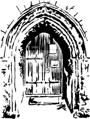 Kirche Tür