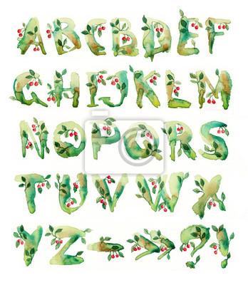 Kirsche, eine Reihe von Briefen