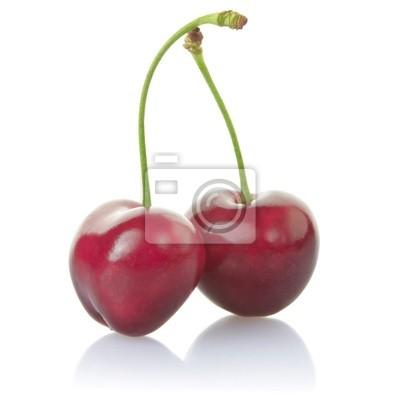 Kirschen mit Clipping-Pfad