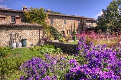 Fototapete Klassisches toskanisches Landhaus