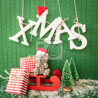 Kleine Geschenke Zu Weihnachten Fototapete Fototapeten Frohe