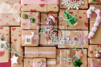 Kleine Geschenke Zu Weihnachten Fototapete Fototapeten