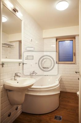 Fototapete Kleine Moderne Badezimmer