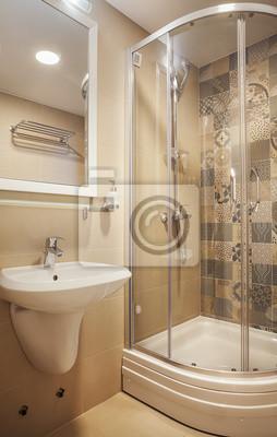 Kleine moderne badezimmer fototapete • fototapeten privies ...