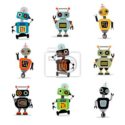 kleine Roboter Set 3