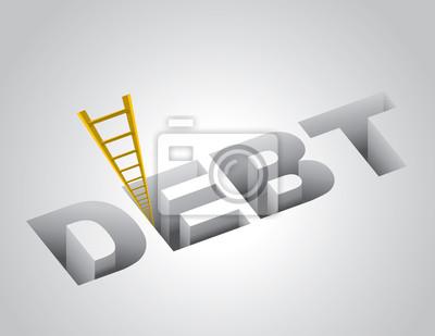 Klettern aus den Schulden