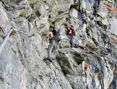 Klettersteig Montafon : Klettersteig hochjoch schruns montafon fototapete u fototapeten