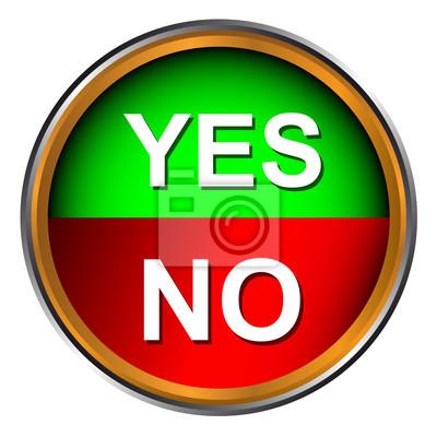 Knopf ja und nein