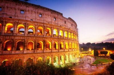 Fototapete Kolosseum in Rom, Italien