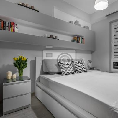 Fototapete: Komfortables und schönes schlafzimmer