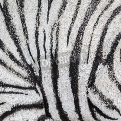 Konkrete Beschaffenheit, die wie ein weißer Tiger Haut-Muster bemalt