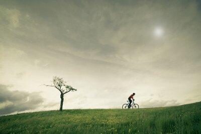 Fototapete Konzept vélo