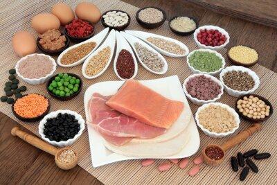 Fototapete Körperbau Ernährung