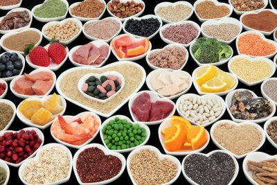 Fototapete Körperbau Gesundheit Nahrungsmittel