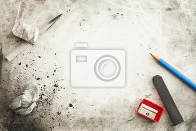 Fototapete Kreativer Kunstprozess