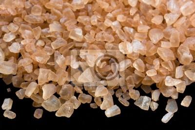 Kristalle von Hawaiian alaea Meer Salz mit roten Lehm