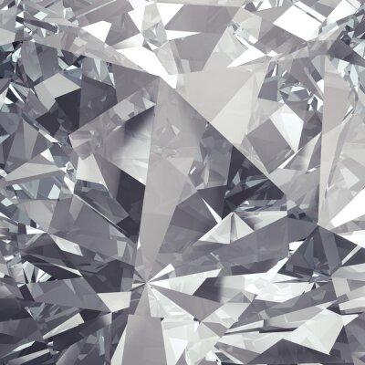 Fototapete Kristallfacette Hintergrund