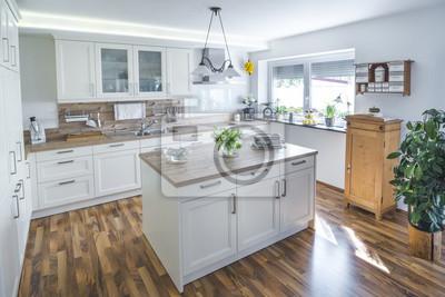 Fototapete: Küche im landhausstil
