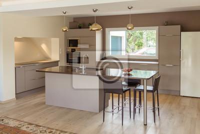 Küche modern fototapete • fototapeten | myloview.de