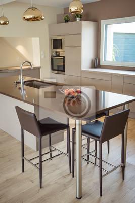 Küche modern fototapete • fototapeten   myloview.de