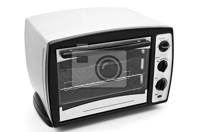Ofen Küche | Kuche Ofen Isoliert Fototapete Fototapeten Toaster Mikrowelle