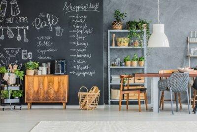 Küche und esszimmer fototapete • fototapeten appartment ...
