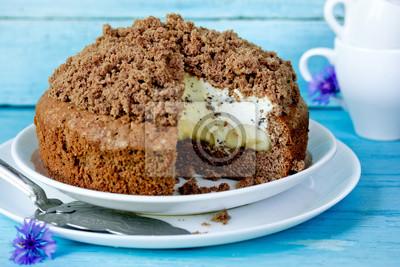 Kuchen Nerz Maulwurf Oder Maulwurf Loch Kuchen Fototapete