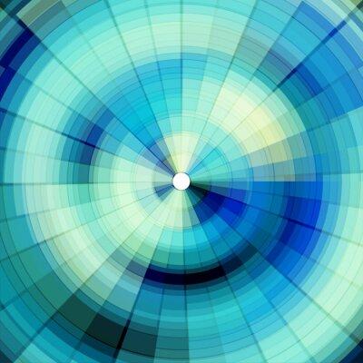 Fototapete kühlen Blau digitalen Hintergrund