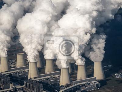 Kühltürme von Kraftwerk