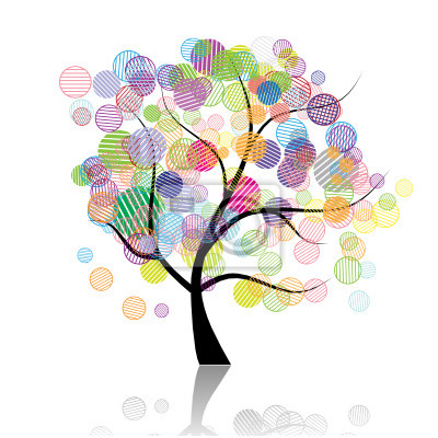 Kunst Baum Fantasie