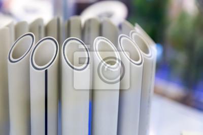 Kunststoff Wasserrohre In Einem Schnitt Polypropylen Rohr