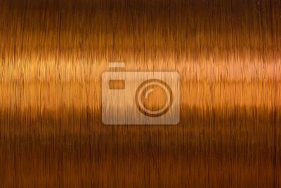 Kupferdraht spule textur metall fototapete • fototapeten Spule ...