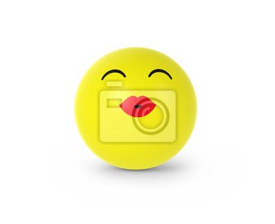 Küsschen emoticon Emojis kennt