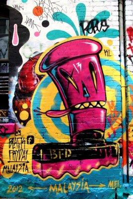 Fototapete LA Street, Melbourne