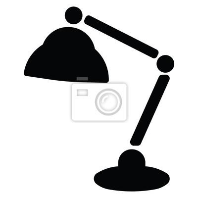 Lampen-symbol fototapete • fototapeten Innenräume, einstellbar ...