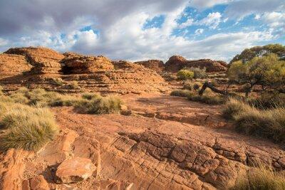 Fototapete Landschaft der Könige Schlucht im Northern Territory, Australien.