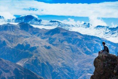 Fototapete Landschaft Peru
