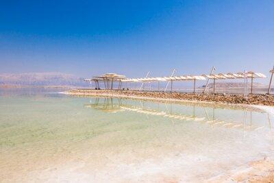 Fototapete Landschaft Tote Meer Küste