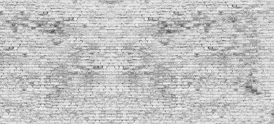 Fototapete Lange weiße Mauer