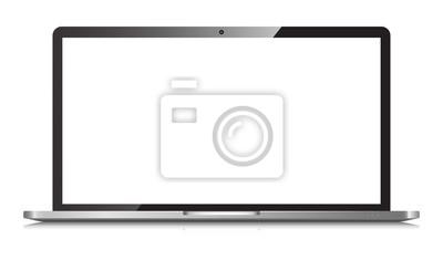 Fototapete Laptop isolated