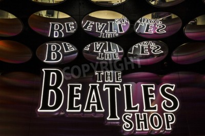 Fototapete Las Vegas - Circa December 2016: The Beatles Shop at The Mirage. This is the only licensed Beatles retail store I
