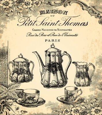 Fototapete Le Salon de Thé
