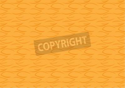 Fototapete Leaf Design Abstract Background In Orange Color For Wallpaper