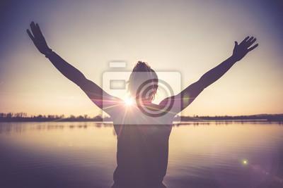 Fototapete Leben Glück und Freude